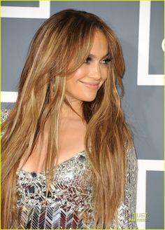J Lo Bronde hair color