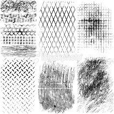 Grunge Textures, Illustration, vector art, graphic design.