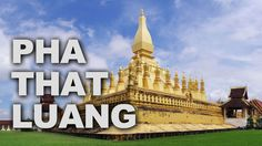 Pha That Luang is a gold-covered large Buddhist stupa in the centre of Vientiane, Laos. Since its initial establishment, suggested to be in the 3rd century, the stupa has undergone several reconstructions as recently as the 1930s due to foreign invasions of the area.