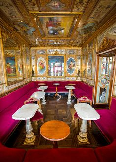 The Florian Coffee House: Venice, Italy
