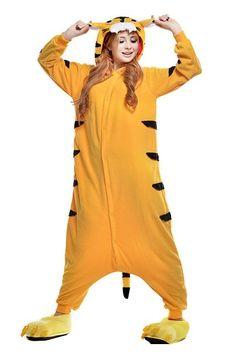 amazoncom irise adult cosplay costume party cartoon sleepcoat loose homewear aime onesie