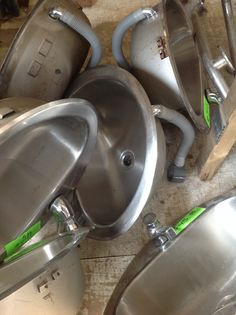 Stainless Steel Bathroom Sinks. Chilliwack New and Used Building Materials Inc.