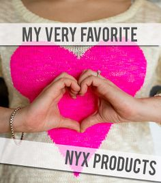 Welcome to Target NYX! My very favorite NYX Cosmetics products. #makeup #nyxcosmetics #nyx