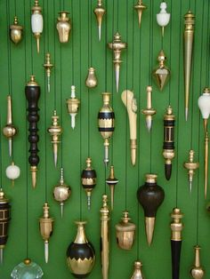 Victorian plumb bobs....not really Christmas, just cool.                                                                                                                                                                                 More