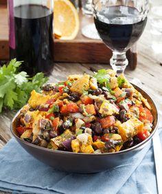 Mexican Sweet Potato Salad / Gluten-free, Dairy-free, Vegetarian recipe