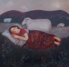 Nicola Slattery- British artist, love her style and imagination.  I'd love to take one of her classes one day.