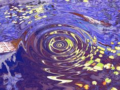 Water ripples force