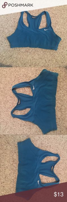Nike Sports Bra Blue nike sports bra Nike Intimates & Sleepwear Bras
