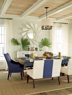 2011 Coastal Living Ultimate Beach House Dining Room