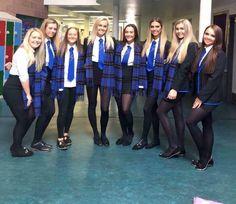 School Uniform Outfits, Cute School Uniforms, Girls Uniforms, Geek Chic Outfits, Sexy Outfits, Girl Outfits, British School Uniform, School Girl Dress, Pantyhose Legs