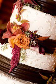 colors again - plum orange chocolate