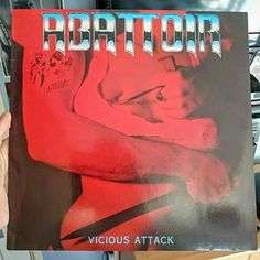 Pleased to have manged to score this for a little over 4 in near mint condition and the seller was the guitarist for the punk group the English dogs  On roadrunner records RR9788 85' #abattoir #viciousattack #markcaro #screamsfromthegrave #thelivingandthedead #dontwalkalone #strongerthanevil #gameofdeath #1985 #roadrunnerrecords #metal #thrashmetal #vinyl #record #igvinylclub #vinylcollection #vinyljunkie #80s #vintage #nowspinning by h3nryn1cholls