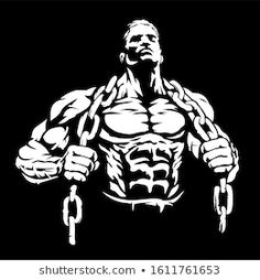 Bodybuilding Logo, Bodybuilding Pictures, Abs And Cardio Workout, Bodybuilding Motivation Quotes, Fitness Motivation Wallpaper, Gym Outfit Men, Gym Logo, Fantasy Art Men, Gym Quote