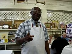 Old Country Store Fried Chicken King Arthur Davis - YouTube