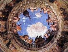 Perspective in Renaissance Art, Mantegna Ceiling Painting