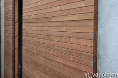 Afbeeldingsresultaat voor muurbekleding tuin met hout