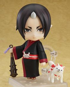 **My name is Hozuki, first aide to the King of Hell.** From the popular manga and anime series, 'Hozuki no Reitetsu' comes a Nendoroid of the sadistic oni that serves as first aide to the King of Hell, Hozuki! He ...