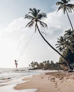 Mikuta - Sri Lanka - Dalawella - Swing - #mikutatravels