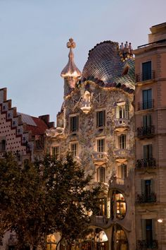 Casa Batlló - my favourite building in the whole world!