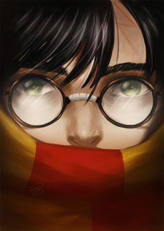 I finally was managed to dedicate a decent fanart to Harry Potter, one of the characters of my youth. Many thanks Rowling Tools: PS That is no ordinary scar. Harry Potter Artwork, Harry Potter Anime, Harry Potter Love, Harry Potter Universal, Harry Potter World, Slytherin, Hogwarts, Hobbit, Severus Rogue