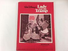 Lady and the Tramp Walt Disney's Press Kit Technicolor Buena Vista Publicity Dpt #Disney