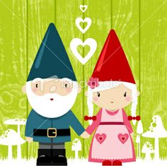 Let these mischievous gnome ornaments adorn your Christmas tree with a step-by-step tutorial. Baby Illustration, Illustration Vector, Gnome Ornaments, Christmas Ornaments, Saint Valentine, Valentines, Male Fairy, Elves And Fairies, Fairies Garden