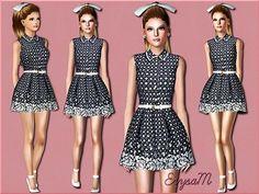 Cute sims 3 dress