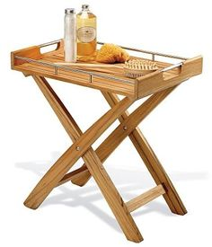 Classic Teak Butler's Tray Table