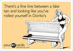 Fake tan!