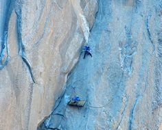 For the first time ever, two men, 30-year-old Kevin Jorgeson and 36-year-old Tommy Caldwell, will ascend one of the world's largest and most difficult cliff-climbing routes in the world using only their hands and feet. They are climbing El Capitan, a 3,000-foot-tall granite monolith in Yosemite National Park in California. This monolith has been climbed …