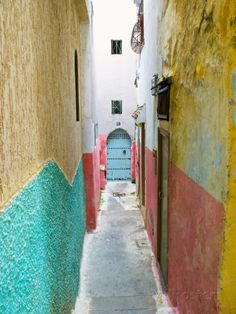 Street in the Kasbah, Tangier, Morocco, North Africa, Africa by Nico Tondini. Photographic Print from AllPosters.com, $32.99