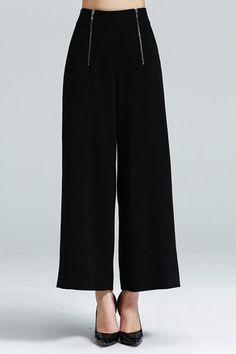 SARAH DEAN NEWYORK- High Waist Wide Leg Pants- $59.99