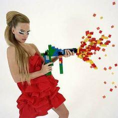 Weapon of pixel destruction