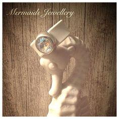Bandring crystallized with Swarovski Elements von MermaidsJewellery auf DaWanda.com