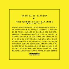 #CorredorLiterario #CronicaDeCarrera #3 #Nike #WomensHalfMarathon