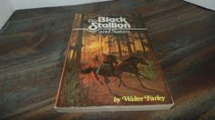 Vintage The Black Stallion and Satan 1977 Walter Farley Softcover Random House Horses by AltmodischVintage on Etsy