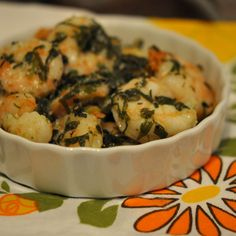 Fast and Easy Dinner: Baked Herbed Shrimp