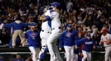 Cubs win NL Division Series