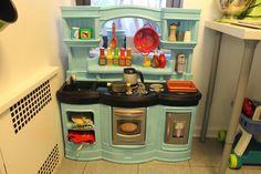 Repaint a plastic play kitchen - Shoes Off Please