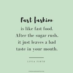 Bye Bye Fast Fashion // 23 Ethical Fashion Quotes to Inspire a Fashion Revolution // These thought-provoking and encouraging words of will inspire you to be a conscious consumer and activist for a more sustainable and ethical world. Knowledge is power Fast Fashion, Slow Fashion, Fashion Fashion, Fashion Tips, Fashion Trends, Revolution Quotes, Lolita Mode, Hijab Mode, Ethical Fashion Brands