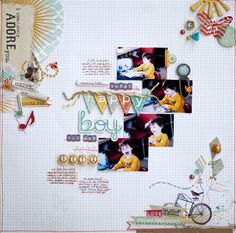 MME: Karen's layout. Love the clusters