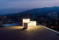 Empty is an outdoor lamp by xucl for vibia outdoor lamp online magazine of the international habitat portal mozeypictures Images
