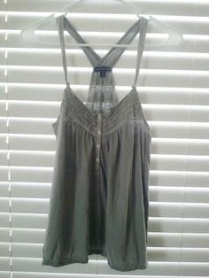 FREE SHIPPING  Cute Grey American Eagle Outfitters by silkyvintage, $20.00