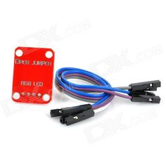 RGB LED Module for Arduino (Works with Official Arduino Boards). Model N/A Quantity 1 Piece Color Black Material PCB Other Features With red, green, blue light output; Working voltage: 5V; Great for DIY project Packing List 1 x Arduino compatible RGB LED module 1 x Connection cable (18cm). Tags: #Electrical #Tools #Arduino #SCM #Supplies #Boards #Shields