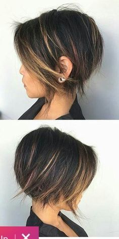 Latest 2019 Hair Style Hair mc Hair mc We are trying to help people to show the most great hair styles on our web site . Short Hairstyles For Women, Pretty Hairstyles, Bob Hairstyles, Straight Hairstyles, Haircut For Thick Hair, Short Curly Hair, Short Hair Cuts, Feminine Short Hair, Medium Hair Styles
