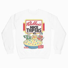 Check this NIce Tripsies Sweatshirt Gift Trending Design T Shirt . Hight quality products with perfect design is available in a spectrum of colors and sizes, and many different types of shirts! Graphic Tees, Graphic Sweatshirt, T Shirt, Direct To Garment Printer, Hoodies, Sweatshirts, Types Of Shirts, Crew Neck Sweatshirt, Design Trends
