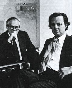 """Ivan Chermayeff and Thomas Geismar """"Finding relationships, as Ivan Chermayeff has said, is what graphic design is all about. It is also what poetry is about—analogy, simile, metaphor, meaning beyond meanings, images beyond images. In the work of Chermayeff and Geismar, images are words, have meanings, communicate. They make visual images that are graphic poetry."""""""