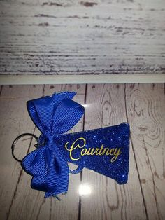 Hey, I found this really awesome Etsy listing at https://www.etsy.com/listing/225971345/glitter-megaphone-acrylic-keychain-with