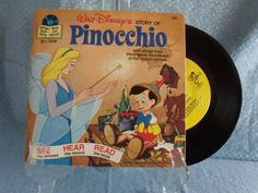 45 records-storybooks...had a ton of these..still have them played them on my mickey mouse record player :)