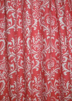 neon coral curtain   home ☆ general   pinterest   coral curtains